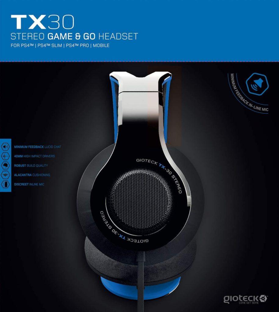 Gioteck Tx-30 Multi Platform Headset – ...