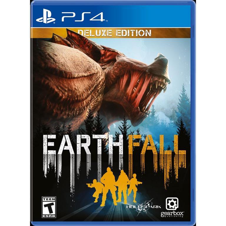 EarthFall Deluxe PS4