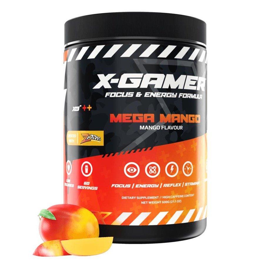 X-Gamer 600g X-Tubz Mega Mango