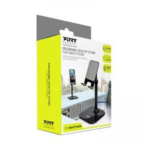 PORT ERGONOMIC SMARTPHONE STAND BLK