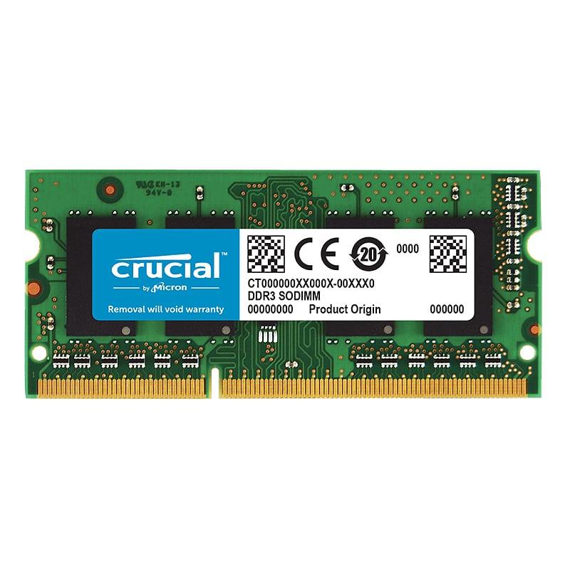 Crucial 2GB DDR3 1600MHz SO-DIMM