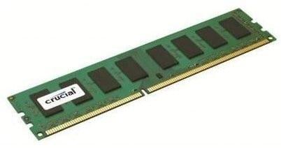 Crucial 4GB DDR3 1600MHz Desktop Memory