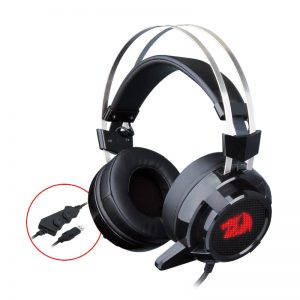 REDRAGON OVER-EAR SIREN 2 USB 7.1 BK